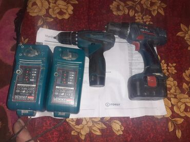 Отвертки и шуруповерты - Узген: Оргинал шрупаверы без зарядный устройства . и зарядный