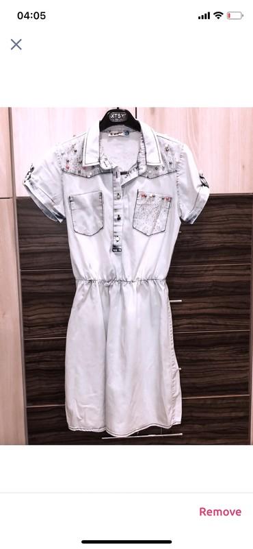 Teksas haljina, S vel. Nošena par puta, kao nova, bez oštećenja. Za - Kragujevac
