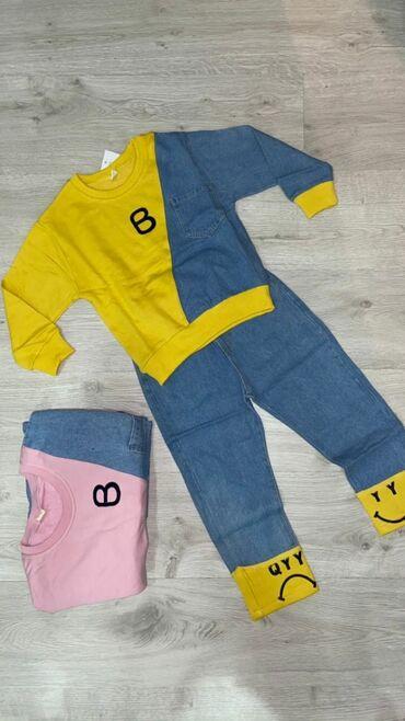 Двойки для маленьких модниц. Размер 100-150(3-10лет)