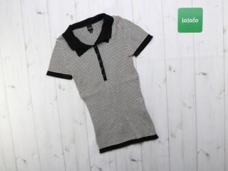 Женская футболка-поло Mosaic, р. S Длина: 49 см Плечи: 26 см Пог: 26 с