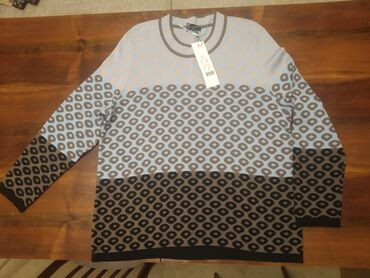 трикотажные платья дешево в Кыргызстан: Свитер трикотажный, размер 54, новый