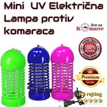 Mini Električna Lampa – Ubica Svih Insekata komaraca. Samo 1590