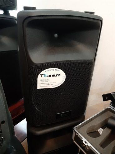 Səs sistemi kalonka.  titanium.400 w gücündə .12 düyüm, passiv в Bakı