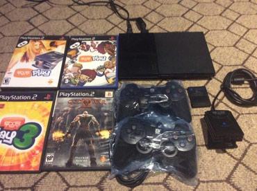 Bakı şəhərində Playstation 2 + EyeToy PlayStation 2 Camera