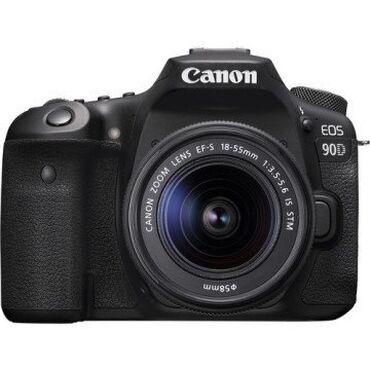 canon eos 5d mark ii в Азербайджан: Fotoaparat Canon EOS 90D 18-55 Kit Fotoaparat Canon EOS 90D  Fotoapara