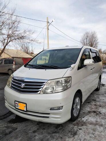 Toyota - Привод: 4WD - Бишкек: Toyota Alphard 3 л. 2006 | 163000 км