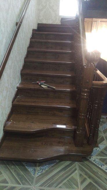 Деревянные лестницы для Вашего дома в Бишкек