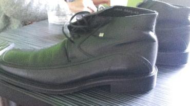 Prava koža. Muške poluduboke cipele. Plaćene 15.000. Malo nošene - Zrenjanin