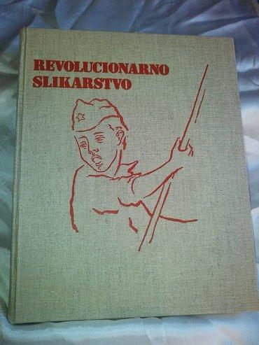 Revolucionarno slikarstvo , knjiga je ocuvana , podnaslov : umetnost i - Kovin