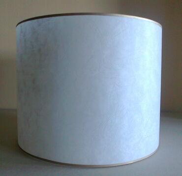 Abažuri za lampe, prečnik 30cm, visina 25cm, pergament u tri boje -