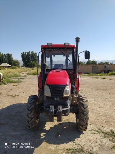 Транспорт - Талас: Продается Трактор YTO-504с плугом,2013года состояние отличное, один