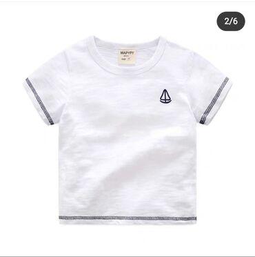Белая футболка на 5 лет, белое платье на 6 лет розовая безрукавка
