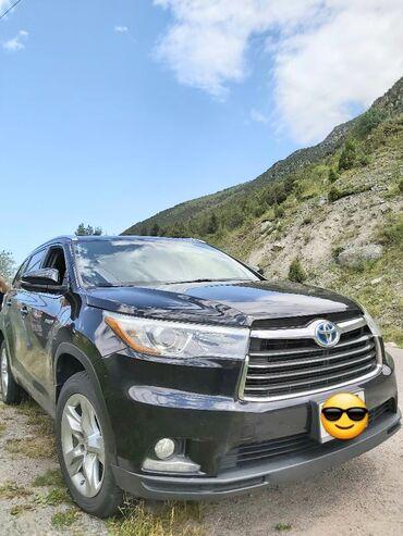 купить телевизор в оше в Кыргызстан: Toyota Highlander 3.6 л. 2015