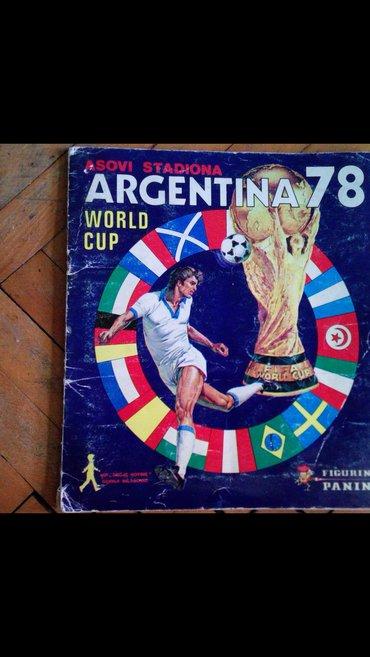 ARGENTINA '78 popunjen album - Beograd