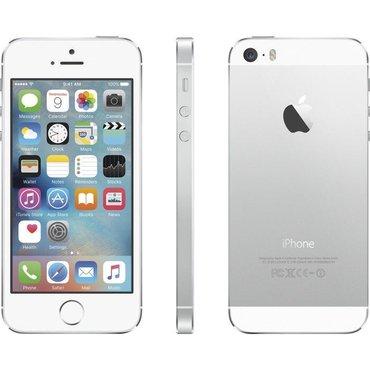Iphone 5s silver/ασημι   πωλείται κινητό iphone 5s σε σχεδόν άριστη κα σε Άγιος Κωνσταντίνος