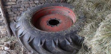 Kamioni, industrijska i poljoprivredna vozila - Borca: Tockovi zadnji 16 4 34 i prednji tockovi za Zetor 8011,Ursus 902B,Ursu