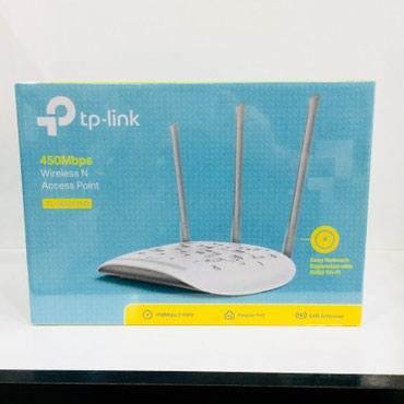 Tp-link access point 3anten 450mbpl wifi berpa edir. Yenidir. Say var. в Баку