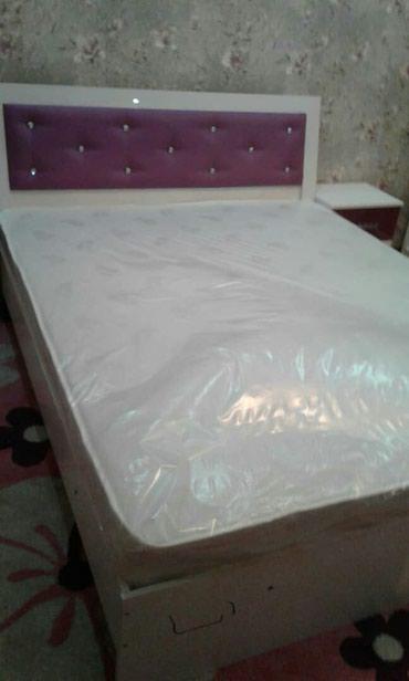 Кровать 1,50×2,00 качество отличное доставка, установка бесплатно в Бишкек
