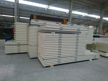 anbarlar - Azərbaycan: Soyuducu anbarlar montaji ucun isdifade olunan sendivic paneler