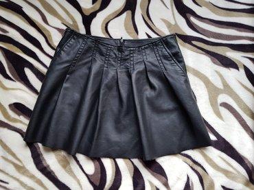 юбка солнце из кожи в Кыргызстан: Мини юбка из зам кожи. размер s