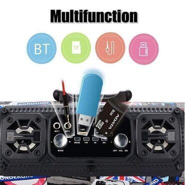 Veliki Bluetooth zvučnik CH-M17Samo 4000 dinara.Porucite odmah u Inbox