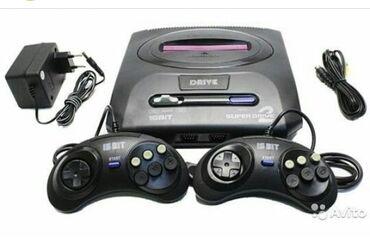 Sega oyun konsolu tezedi salafanda.Kasetlerde satişda varMetrolara