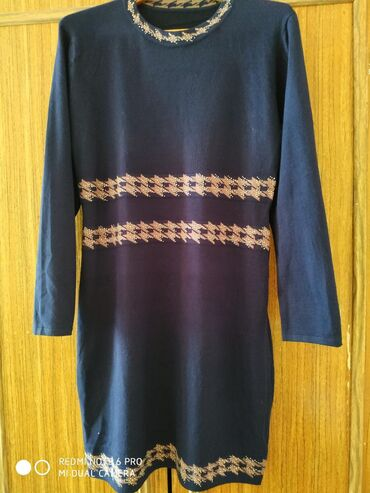 женские платья дешево в Кыргызстан: Женское трикотажное платье. Один раз надела, не подошло по длине