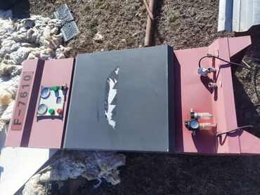 Услуги - Кой-Таш: Вулканисия компрессор азот