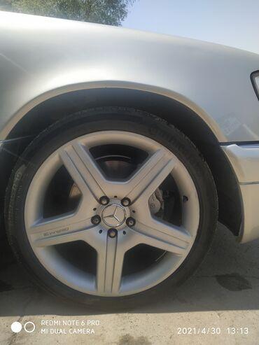 Диски на Мерседес R19 AMG made in Germany. На двух дисках пайки с