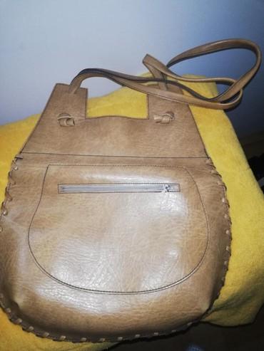 Kožna torba stara blizu 50 godina ručni rad, kao nova
