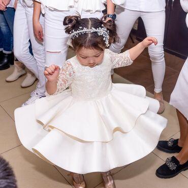 шикарные платья для полных в Кыргызстан: Внимательно читайте!!! Обмена нет! Продаём шикарное платье на девочку
