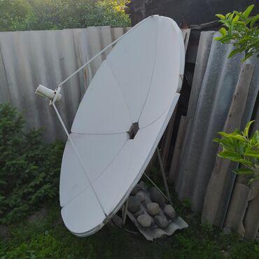 купить-спутниковую-тарелку в Кыргызстан: Продам спутниковую антенну.Большая -180см прямофокусная.В хорошем