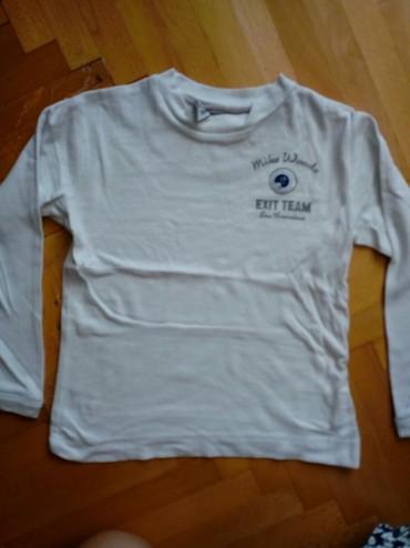 Bela majica na duge rukave za dečake u veličini 2 - Pozarevac