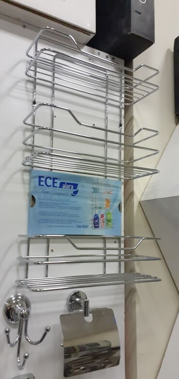 Üçlü polka hamam otağı üçün şamponluq türkiyə ECE metal 25.azn