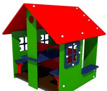 Детский игровой домик Размер: 1500*1500*2000 мм в Бишкек