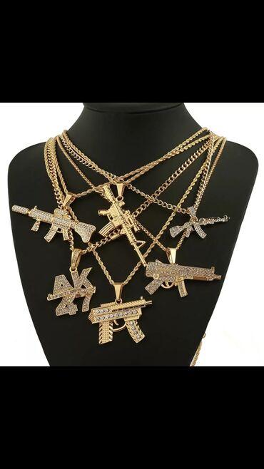 Кулоны (подвески) - Кыргызстан: Очень много цепочек с оружием выбирайте на фото, а так же есть други