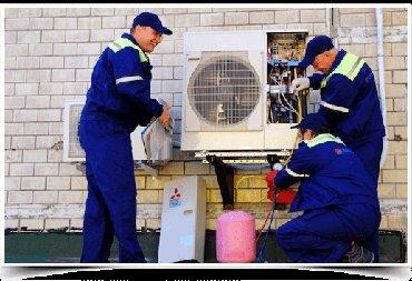 Ремонт кондиционеров любых видов заправка газа обслуживание в Bakı