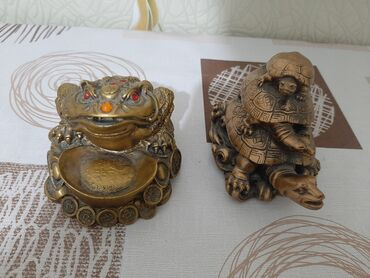 Спорт и хобби - Кочкор: Черепаха и жаба. статуетки