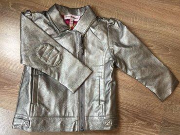 juicy couture купальник в Кыргызстан: Кожанная куртка juicy couture. размер на 18 мес. оригинал из америки