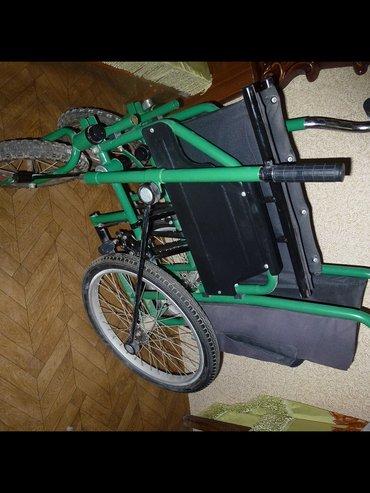 Bakı şəhərində Редукторная  инвалидная  Коляска, раскладная, в отличном состоянии