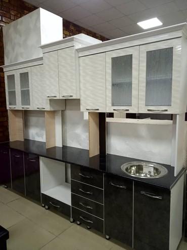 Кухня 3 метра из корейского акрила в Бишкек