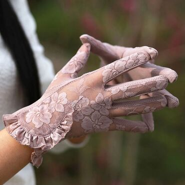 Аксессуары - Беловодское: Женские/дамские перчатки для любителей гигиены, стиля и самое главное