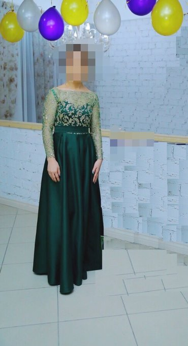Платье сшито на заказ(дорого) Одевала 1 раз