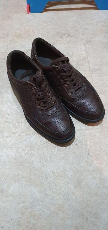 Продаю б/у подростковые (мужские) кожанные туфли. Размер 40.Пр-во