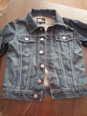 Nova teksas jakna,za devojcicu 140 cm visine, nije nikad nosena, - Kosovska Mitrovica