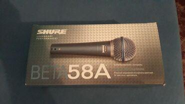 Mikrofoni   Srbija: BETA 58 A