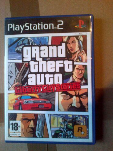 PS2 & PS1 (Sony PlayStation 2 & 1) | Srbija: GTA retkost br2=ispravne su testirane=neke imaju knizice neke ne