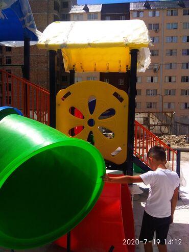 Детские площадки под ключ,. детские качели, горки, травмобезопасное