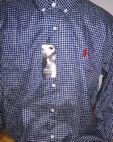 Kosulja xl pamuk vezena napred - Srbija: Muške Košulje XL