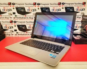 Bakı şəhərində Asus UltraBook  i5 4cü nəsil + Full Touch Screen / Hədiyyəlik- 2